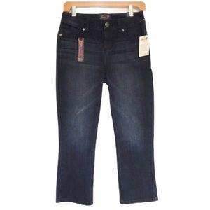 Seven7 Skinny Stretch Capri Jeans Sz 4 NEW W TAGS!